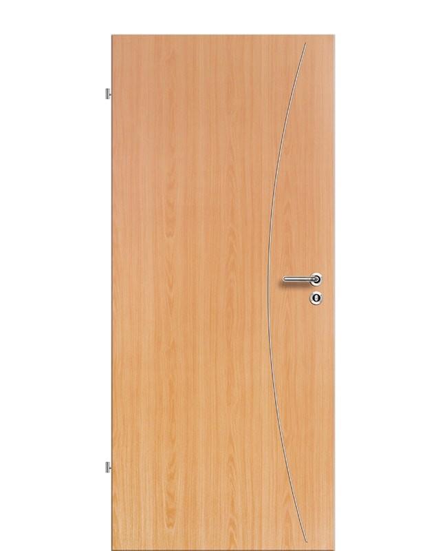 Lisenen Zimmertür / Innentür CPL Buche aufliegend
