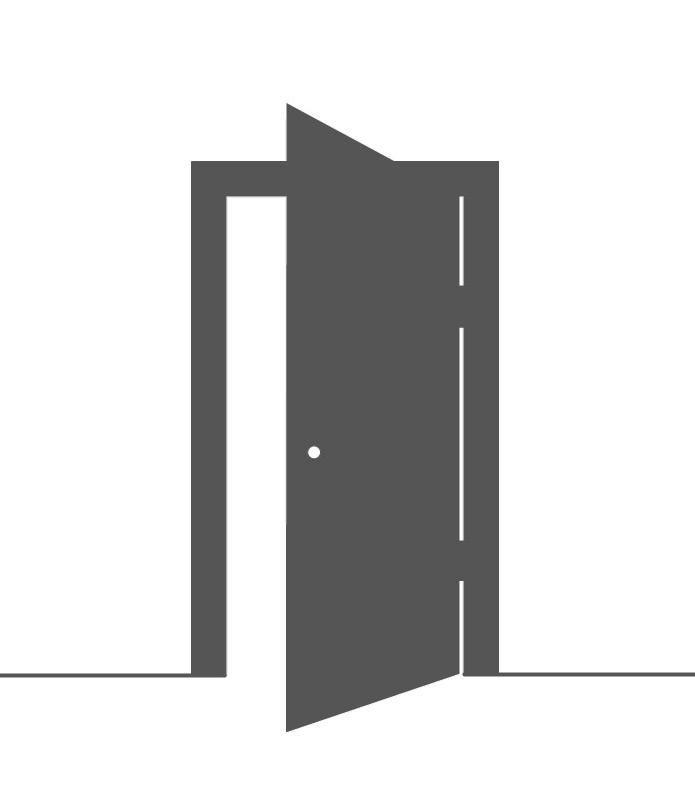 Glastuer-Ganzglastuer-Satinato-8mm-ESG-Zimmertuer