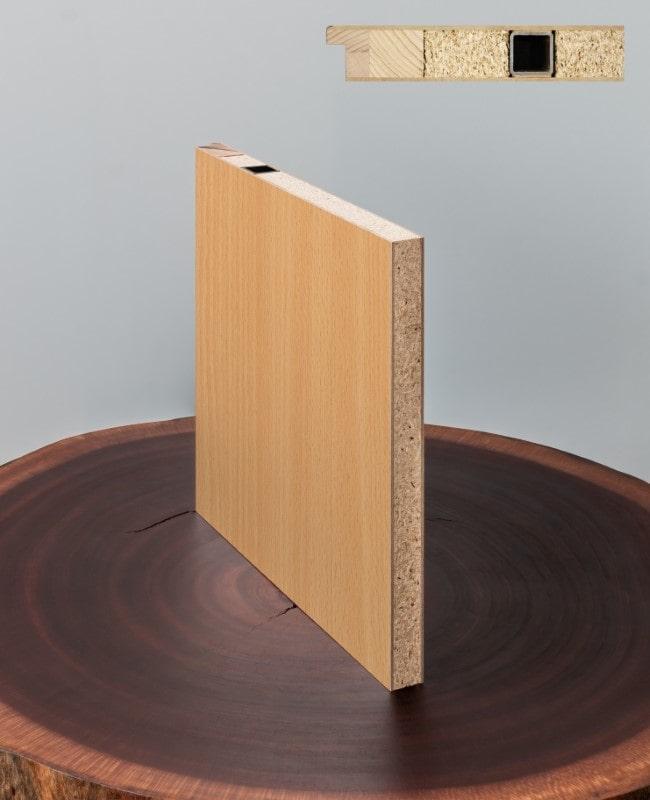 wohnungseingangst r cpl buche rundkante klimaklasse 3 schallschutzt r sk1 198 5 ebay. Black Bedroom Furniture Sets. Home Design Ideas